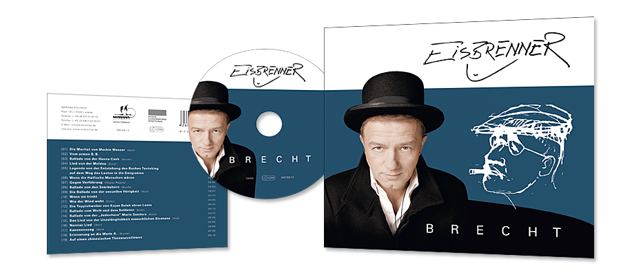 CD-Cover 'Brecht'