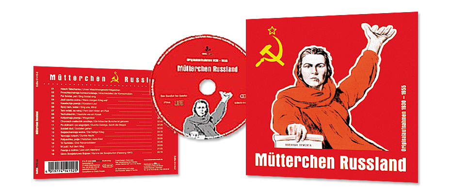 CD-Cover 'Mütterchen Russland'